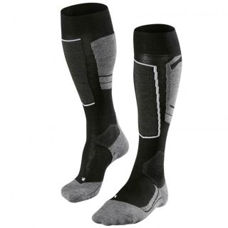 SK4 Socken Damen black grey