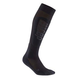 Ski Race Socks Herren black anthracite
