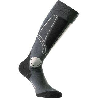 Carving Socken Herren grau
