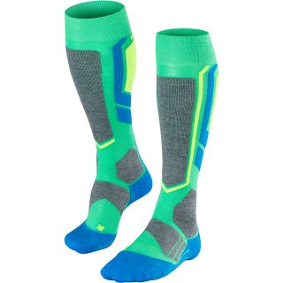 SB2 Snowboardsocken Herren green blue grey