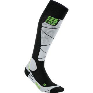 Ski Socks Merino Herren black azur
