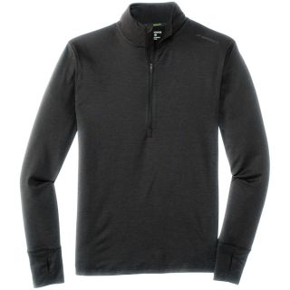 Dash 1/2 Zip Shirt Herren heather black
