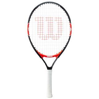 Roger Federer 23 junior Tennisschläger besaitet schwarz rot