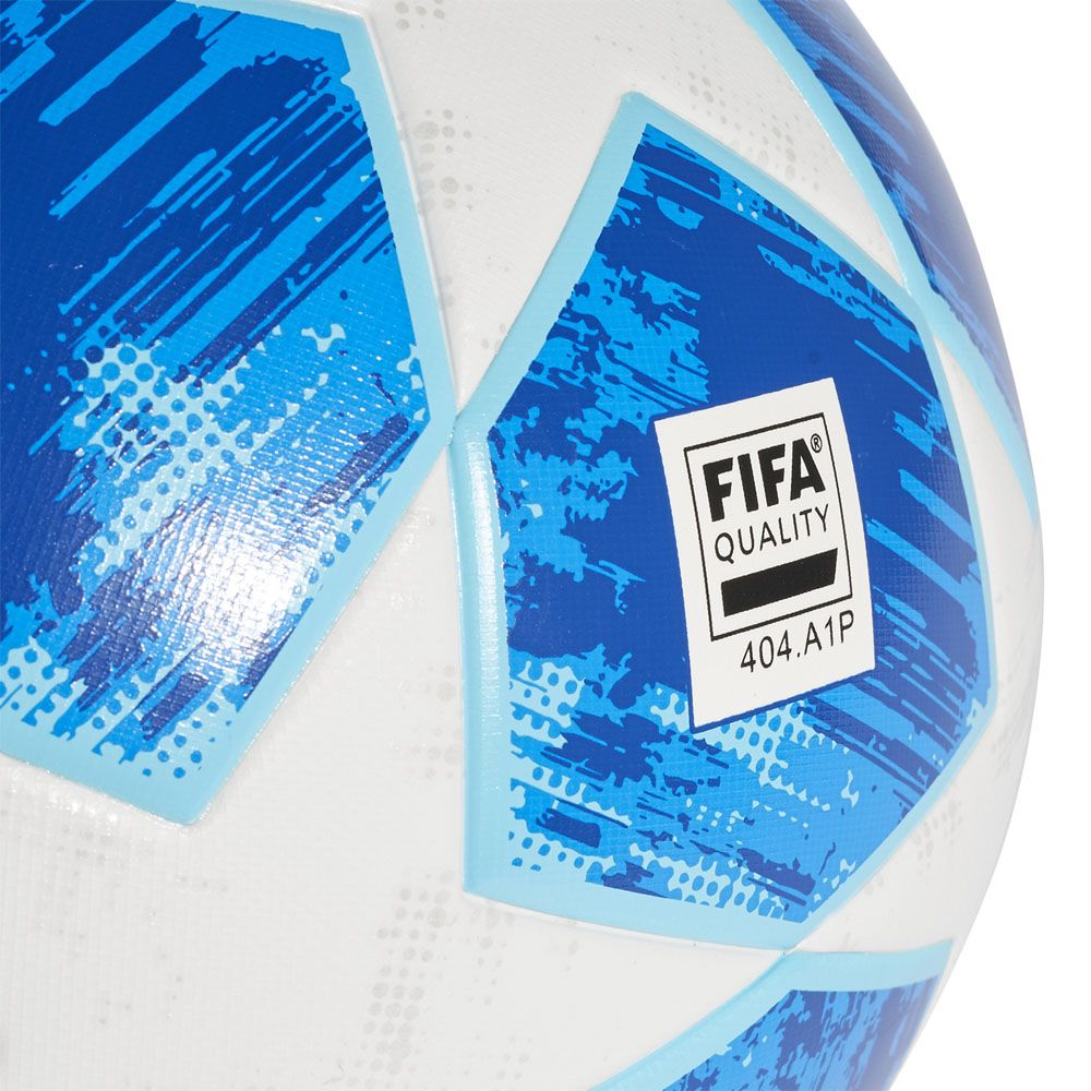adidas Finale 18 Top Training Ball white football blue