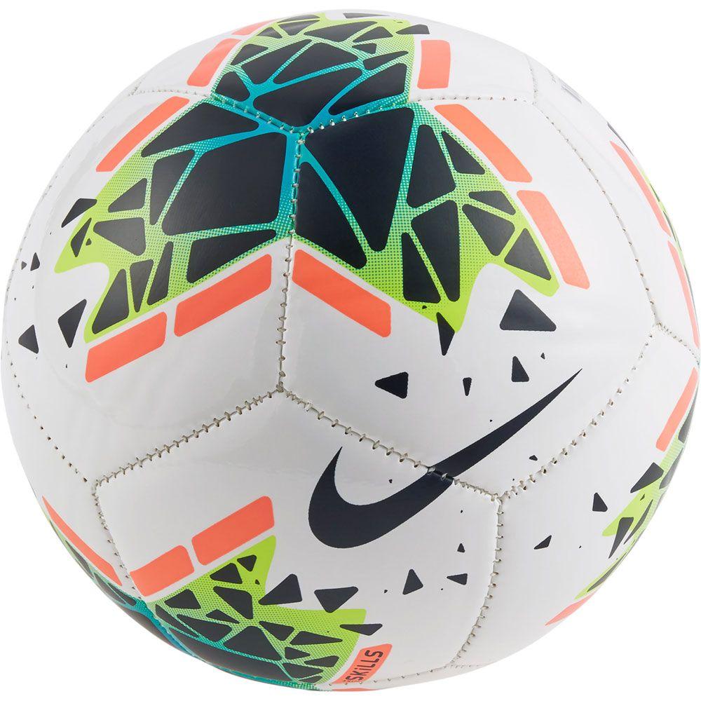 100% quality half price details for Nike - Skills Soccer Ball white obsidian bright mango