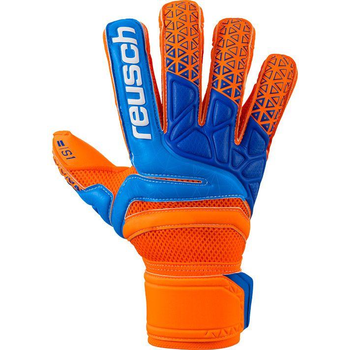 7429c587e74 Reusch Prisma Prime S1 Evolution Finger Support Goalkeeper Gloves shocking  orange blue