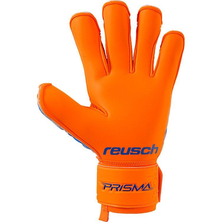 35a44a8fc01 Prisma Prime S1 Evolution Finger Support Goalkeeper Gloves shocking orange  blue. Reusch
