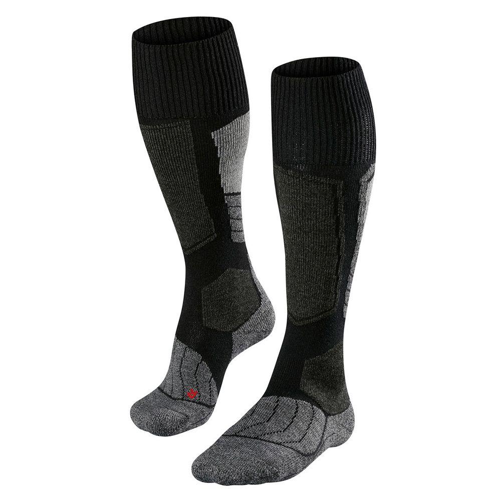 SK1 Socken Damen black grey