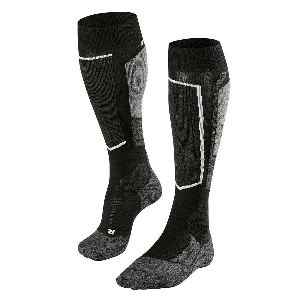 SK2 Socken Damen black grey