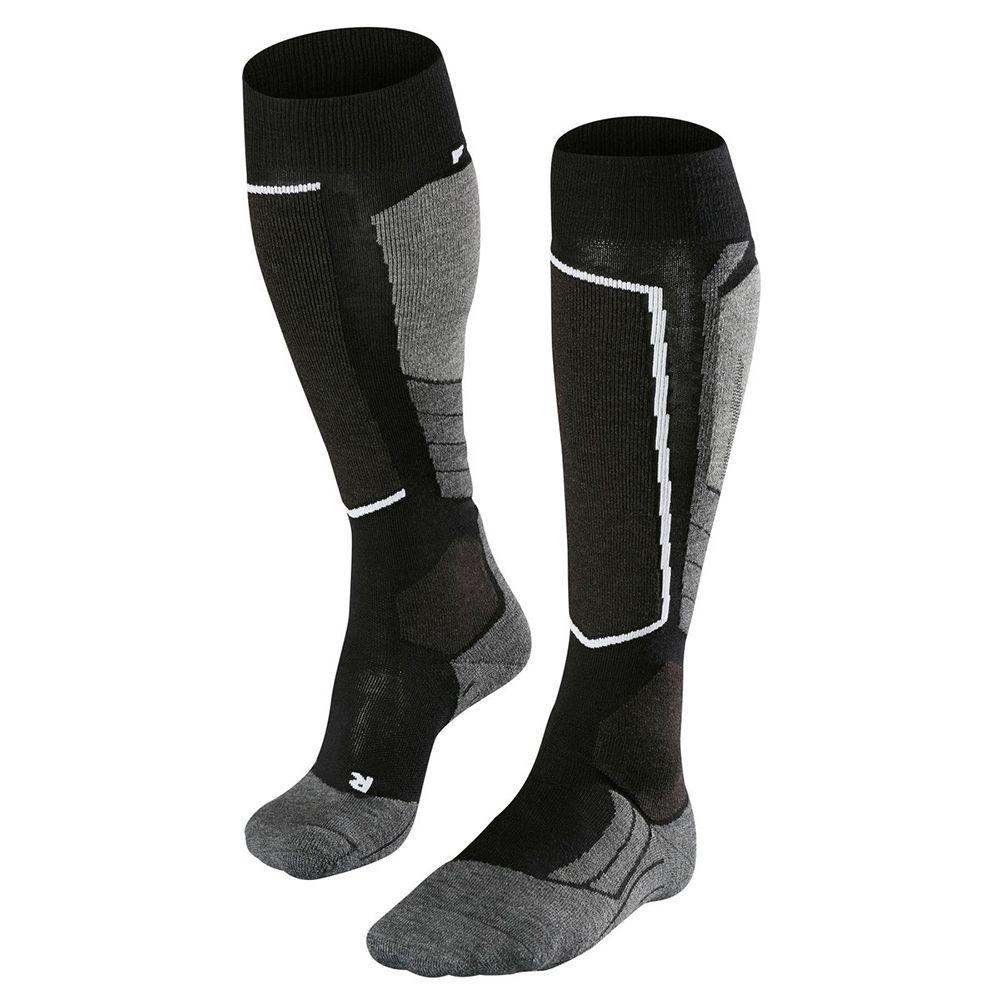 SK2 Wool Socken Damen black grey
