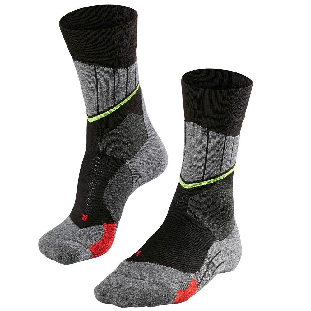 SC1 Socken Herren schwarz/grau