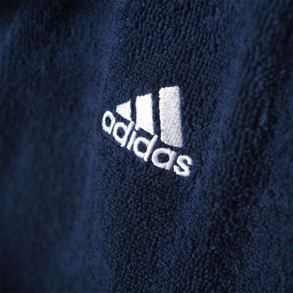 adidas 3 Stripes Bademantel Herren collegiate navy white