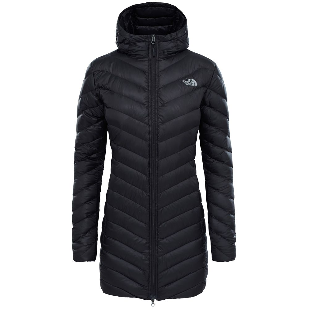 the north face trevail parka damen black kaufen im. Black Bedroom Furniture Sets. Home Design Ideas