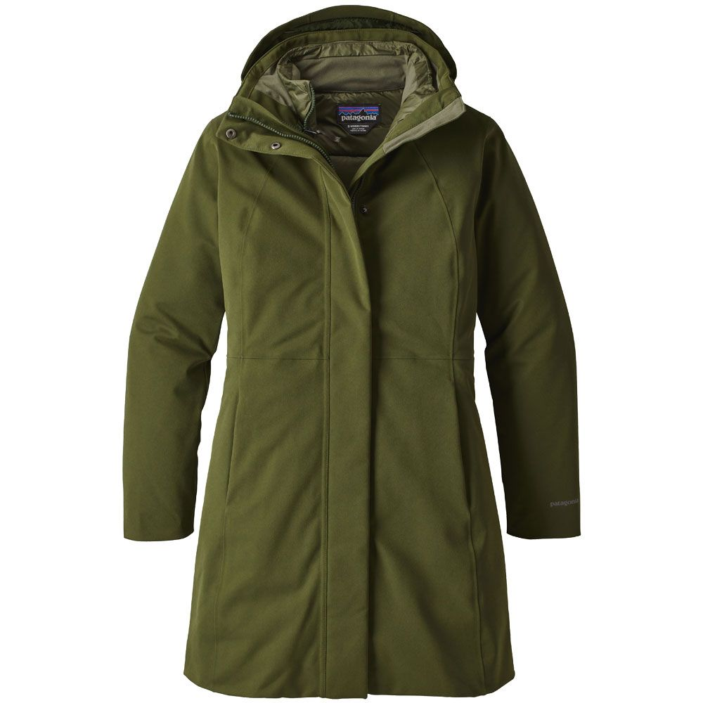 buy popular 45eab 97894 Patagonia - Tres 3-in-1 Parka Women nomad green