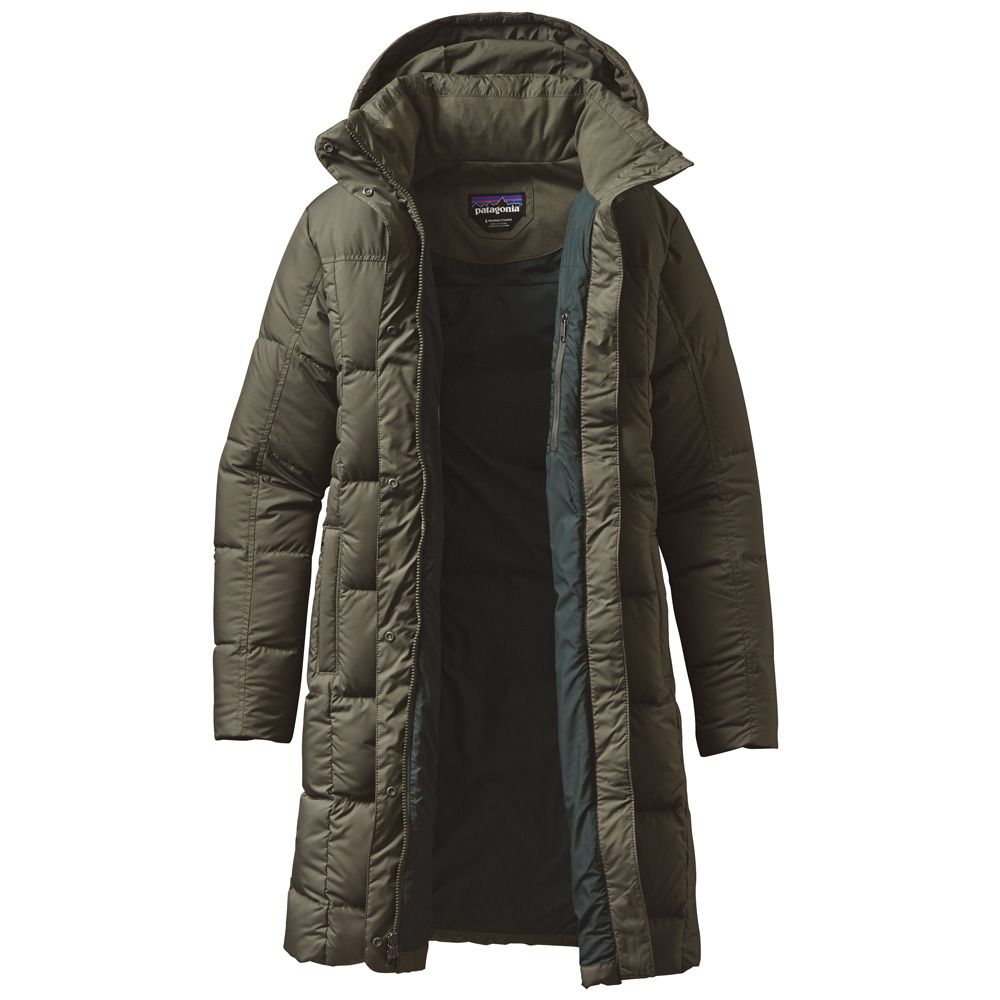 the latest 64c7a 63c7a Patagonia - Down with it Parka Damen industrial green kaufen ...