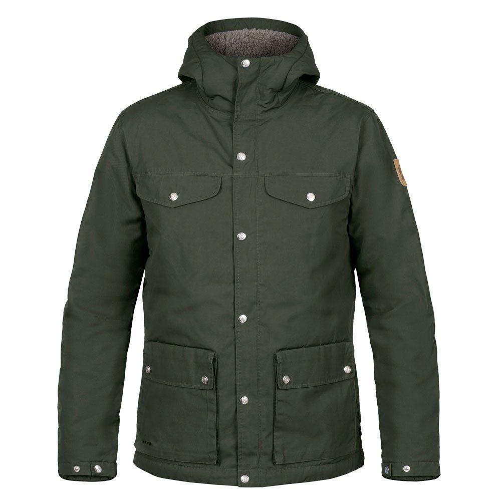 classic style new appearance super popular Fjällräven - Greenland Winter Jacket Men deep forest