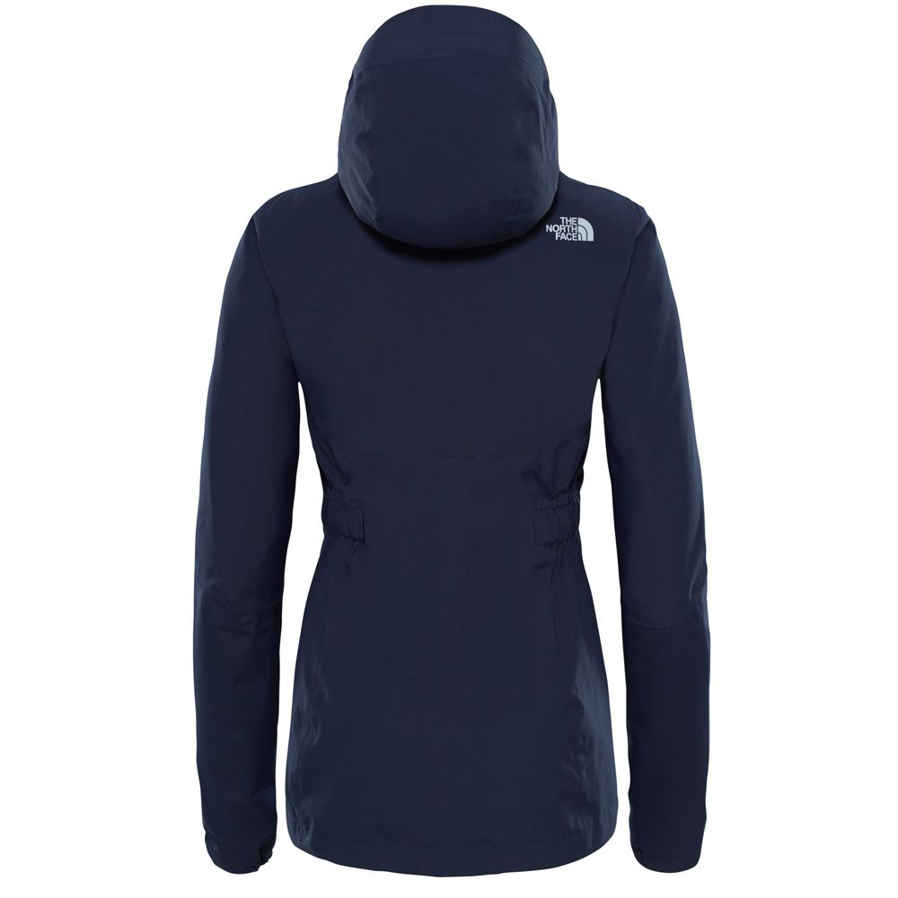 the north face hikestellar parka damen urban navy. Black Bedroom Furniture Sets. Home Design Ideas