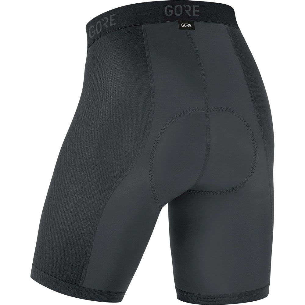 C3 Liner Short Tights+ Herren schwarz