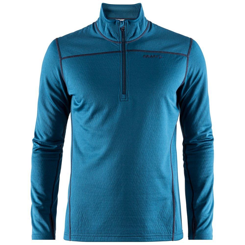 Craft Pin Half Zip Men blue