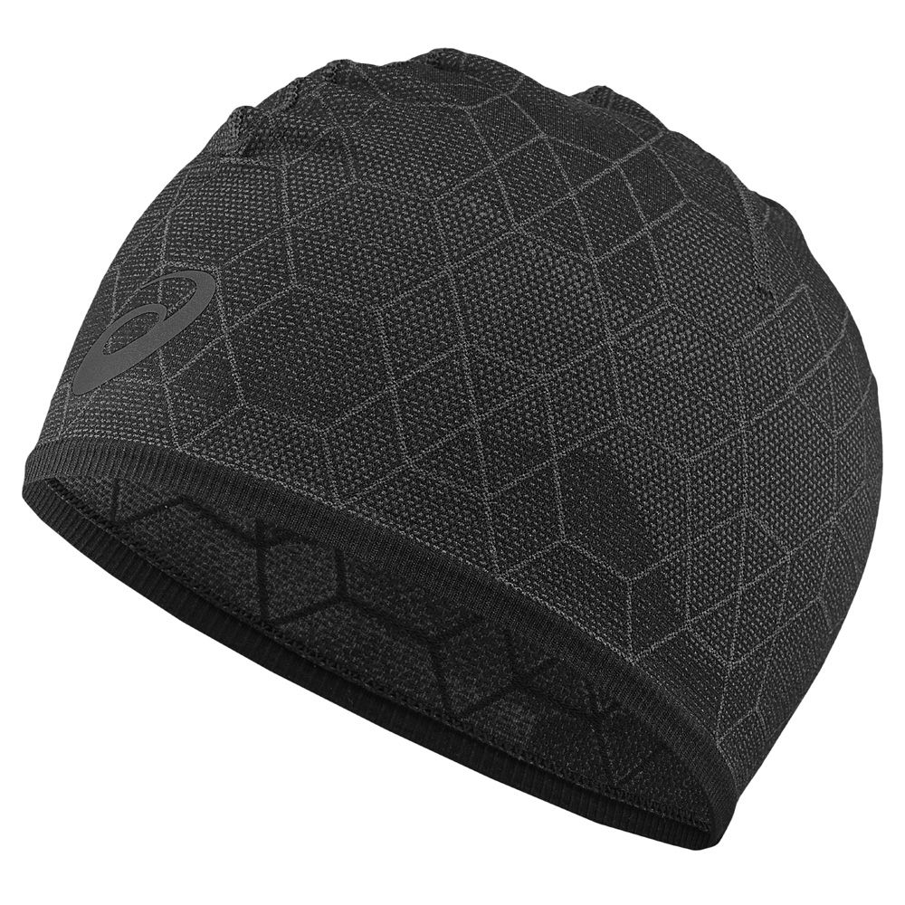 ASICS - Graphic Beanie black at Sport Bittl Shop 8276b19bfdb