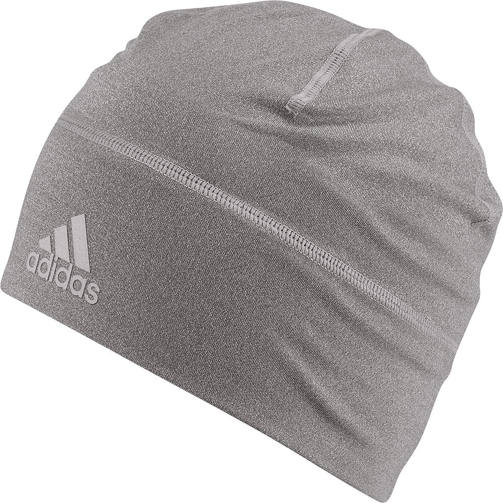 51e98fb0a2573 adidas - Climalite Beanie Unisex core heather reflective silver at ...