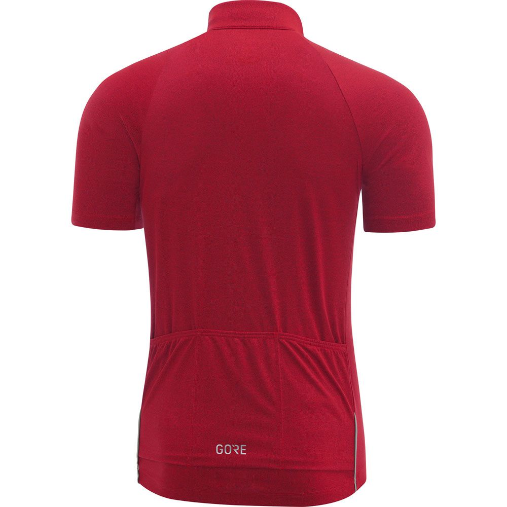 C3 Jersey Herren rot