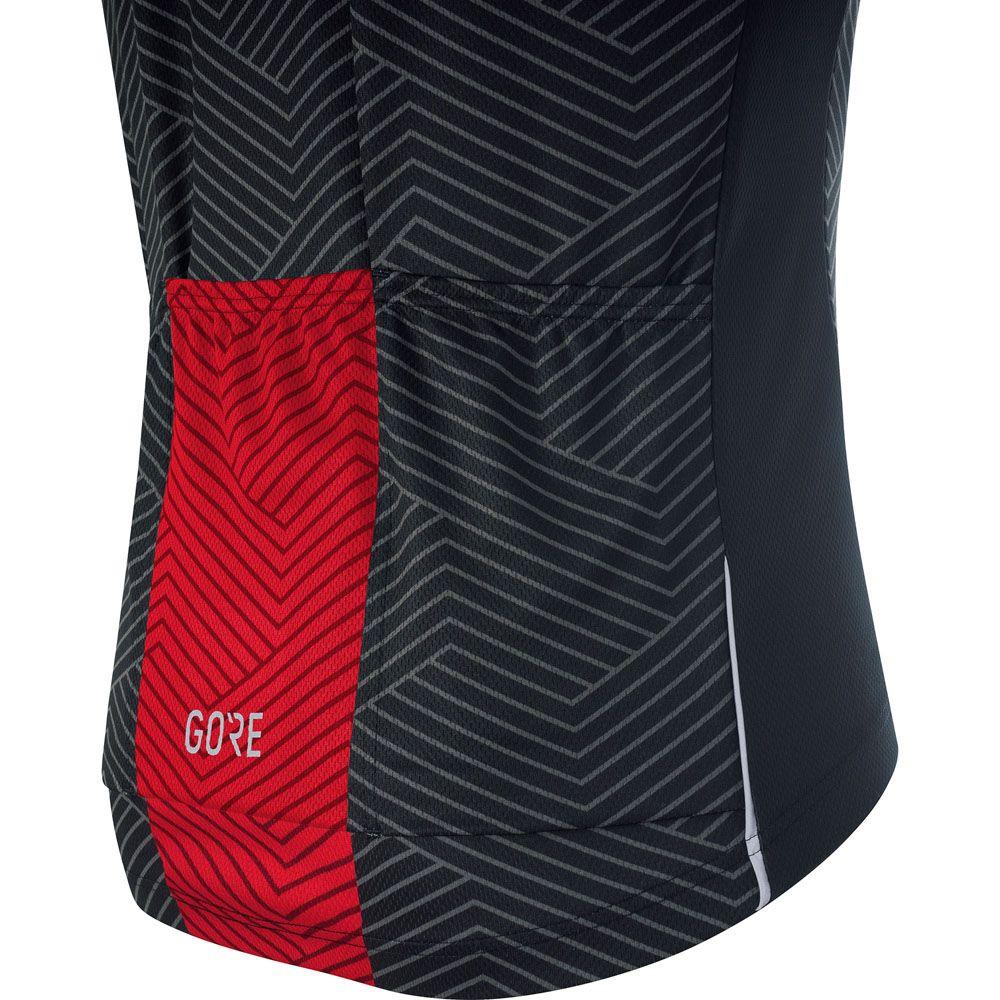C3 Optiline Jersey Men red black