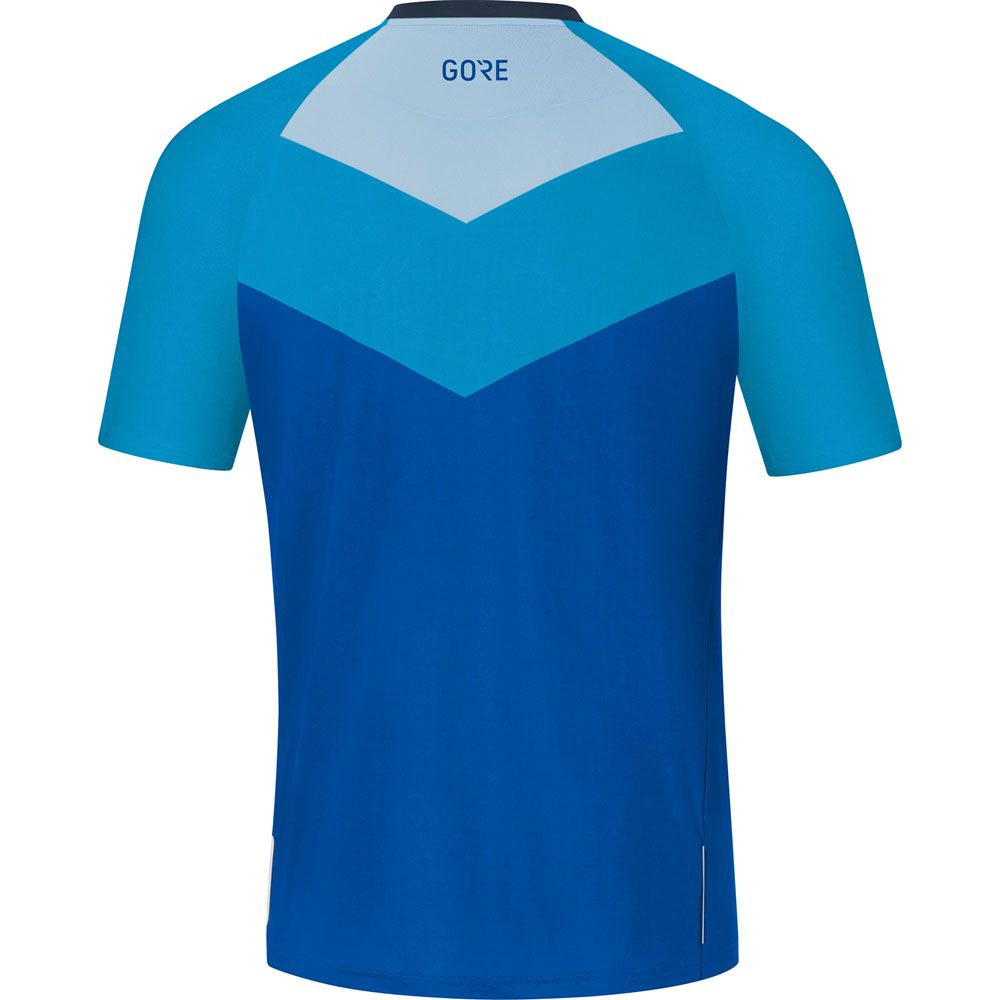 C5 Trail Shortsleeve Jersey Men blue