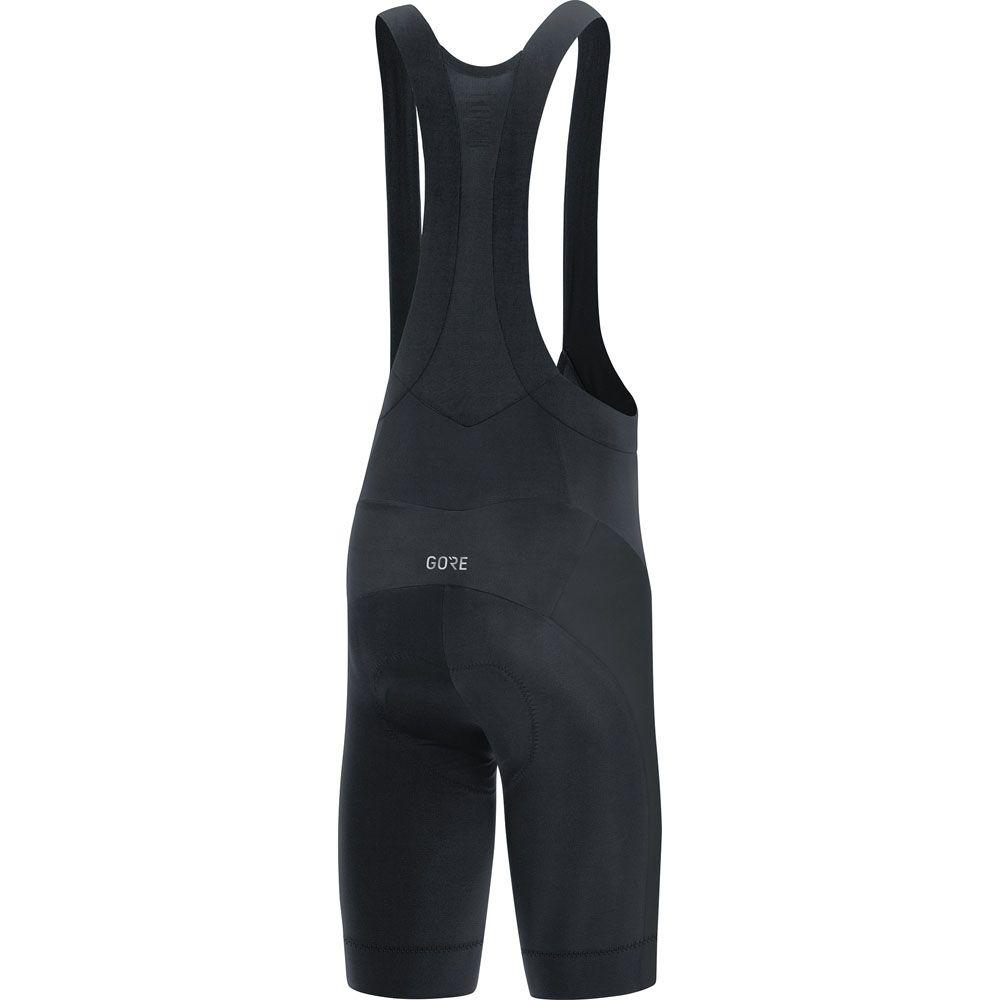 C3 BIB Shorts+ Herren schwarz