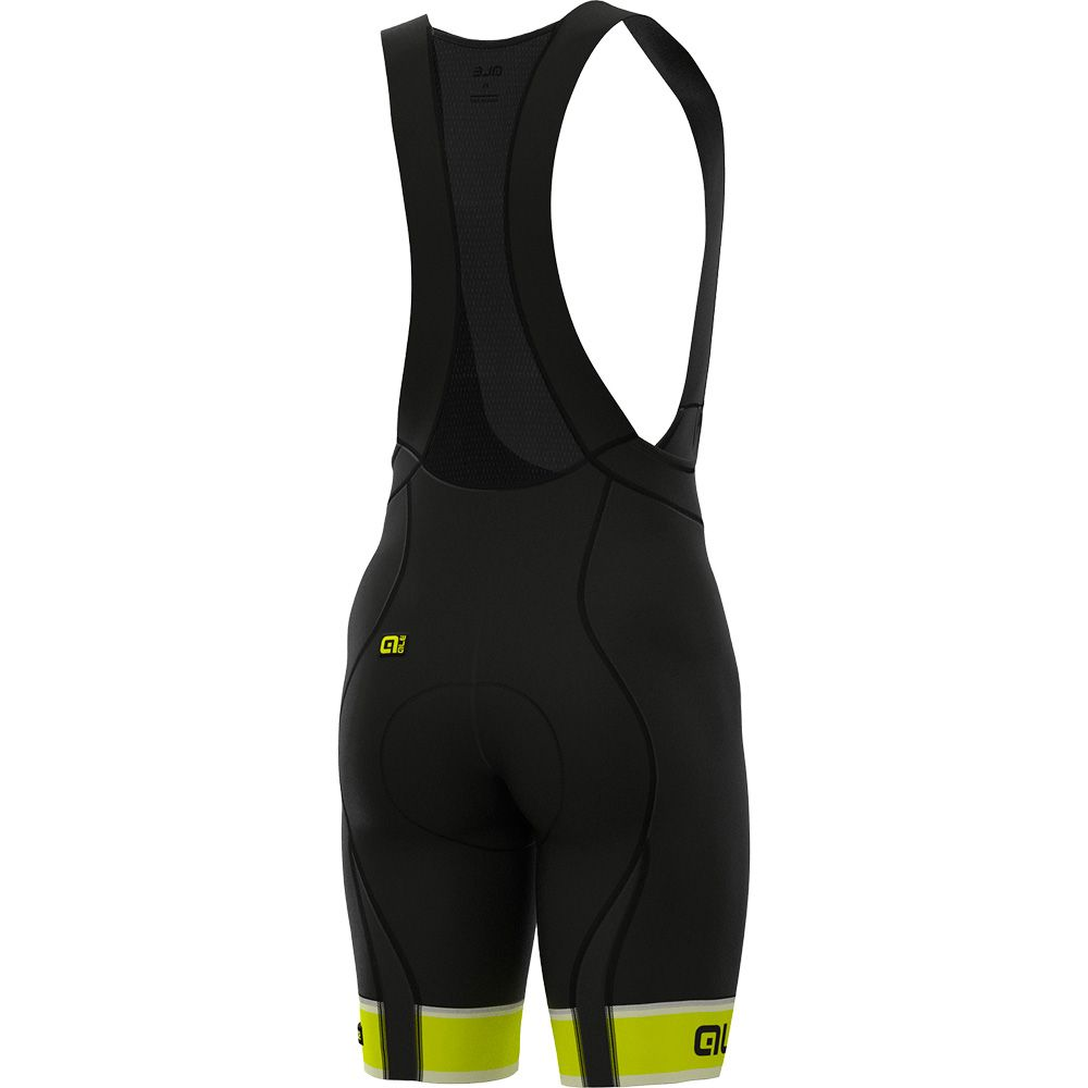 PRR Sella Bib Short Men fluo yellow black