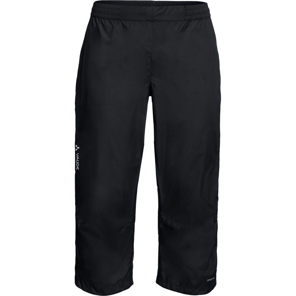 9c71bfe8028 VAUDE - Drop 3/4 Bike Rain Pants Men black at Sport Bittl Shop
