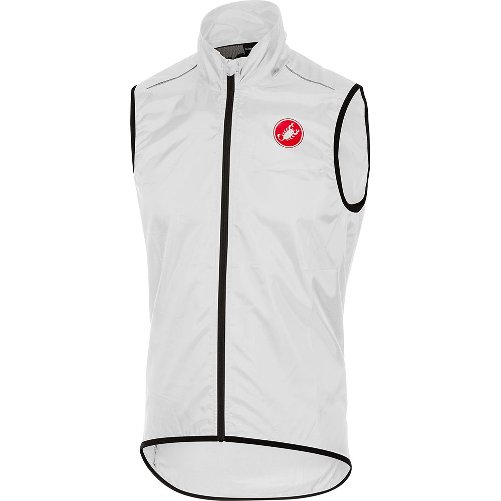 Squadra Long Vest Men white
