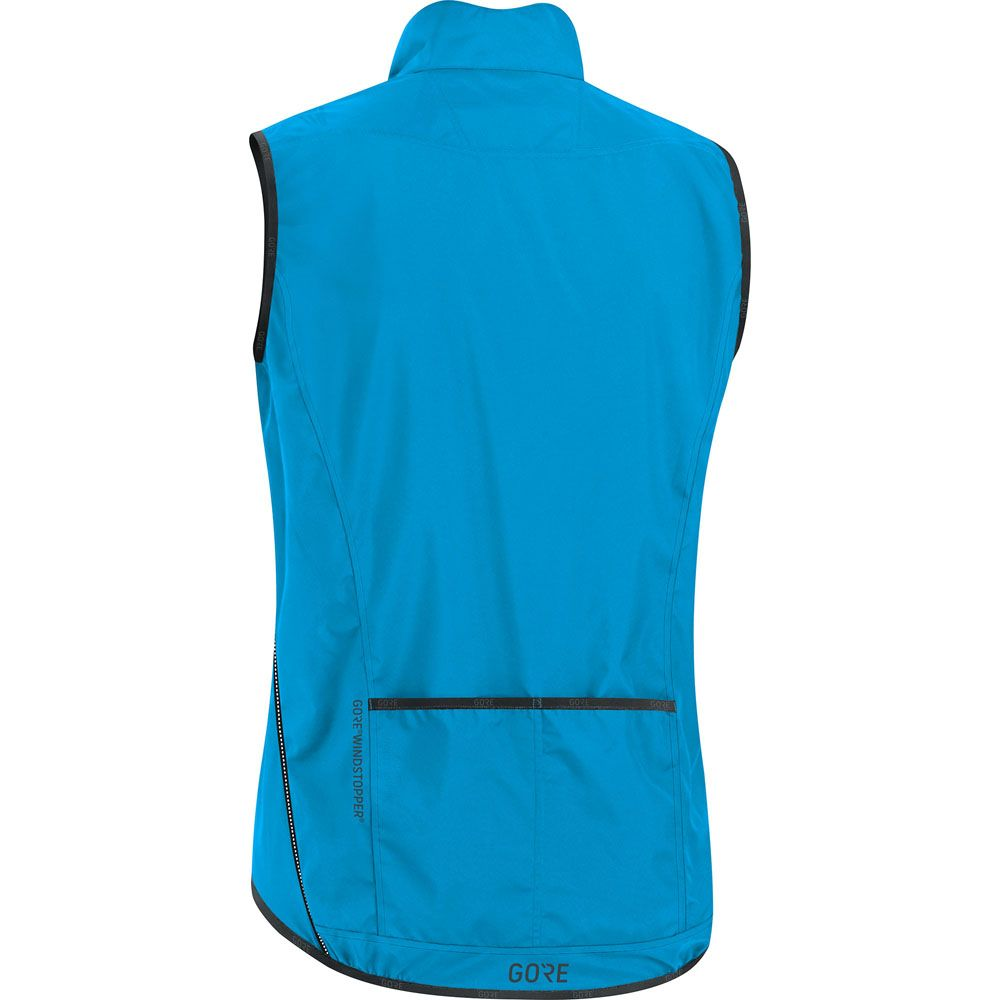 C3 Windstopper Light Vest Men blue