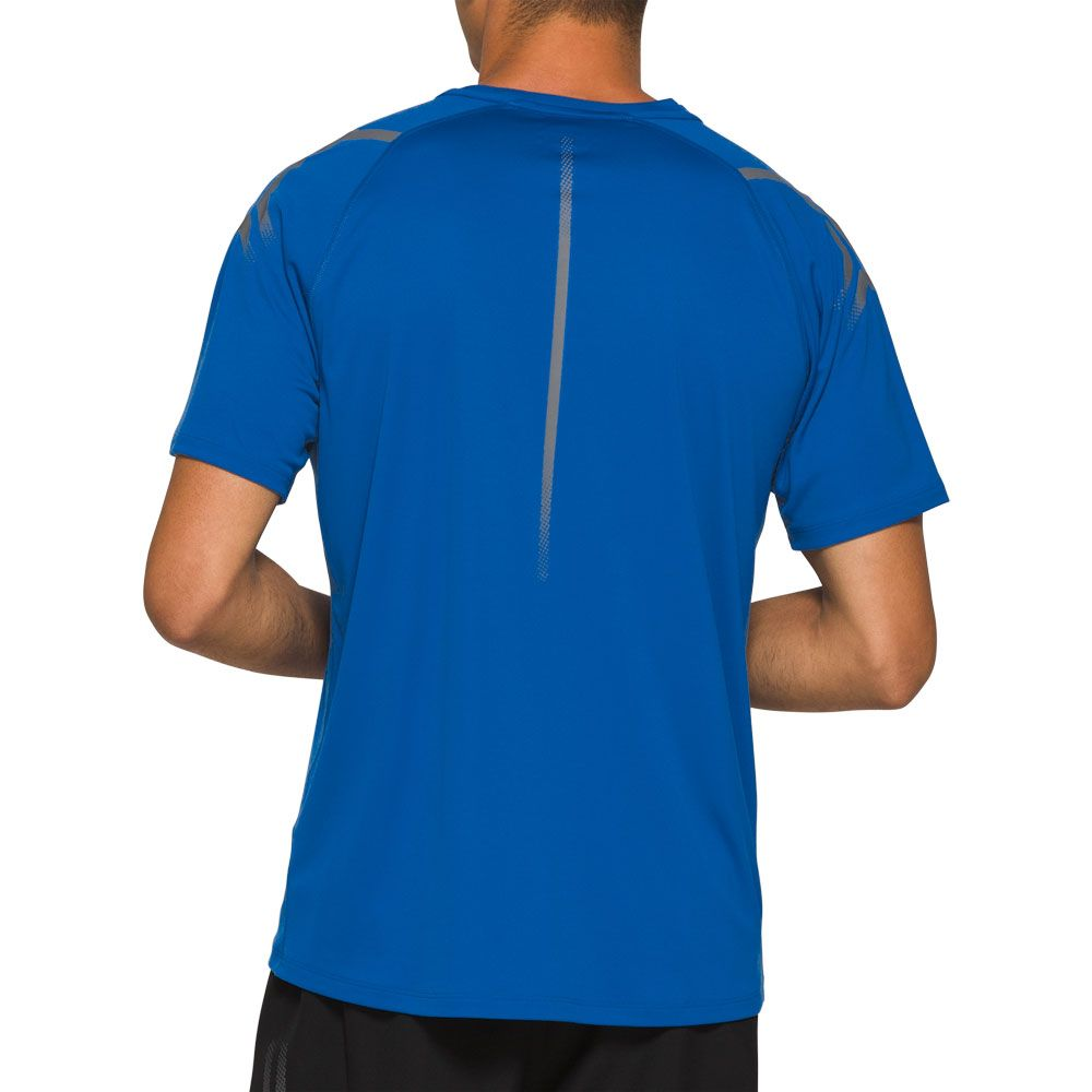 ASICS Icon T Shirt Herren tuna blue