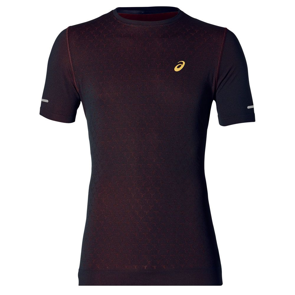 Asics Lite Running T-Shirt Mens Illusion Blue Activewear Fitness Top Shirt Small