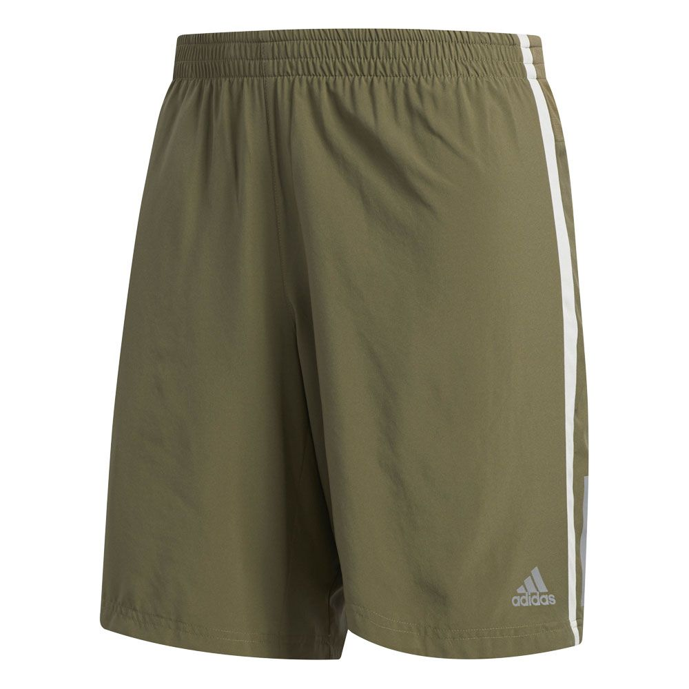 7a4dea8cfac adidas - Own the Run 2 in 1 Running Shorts Men raw khaki raw white ...