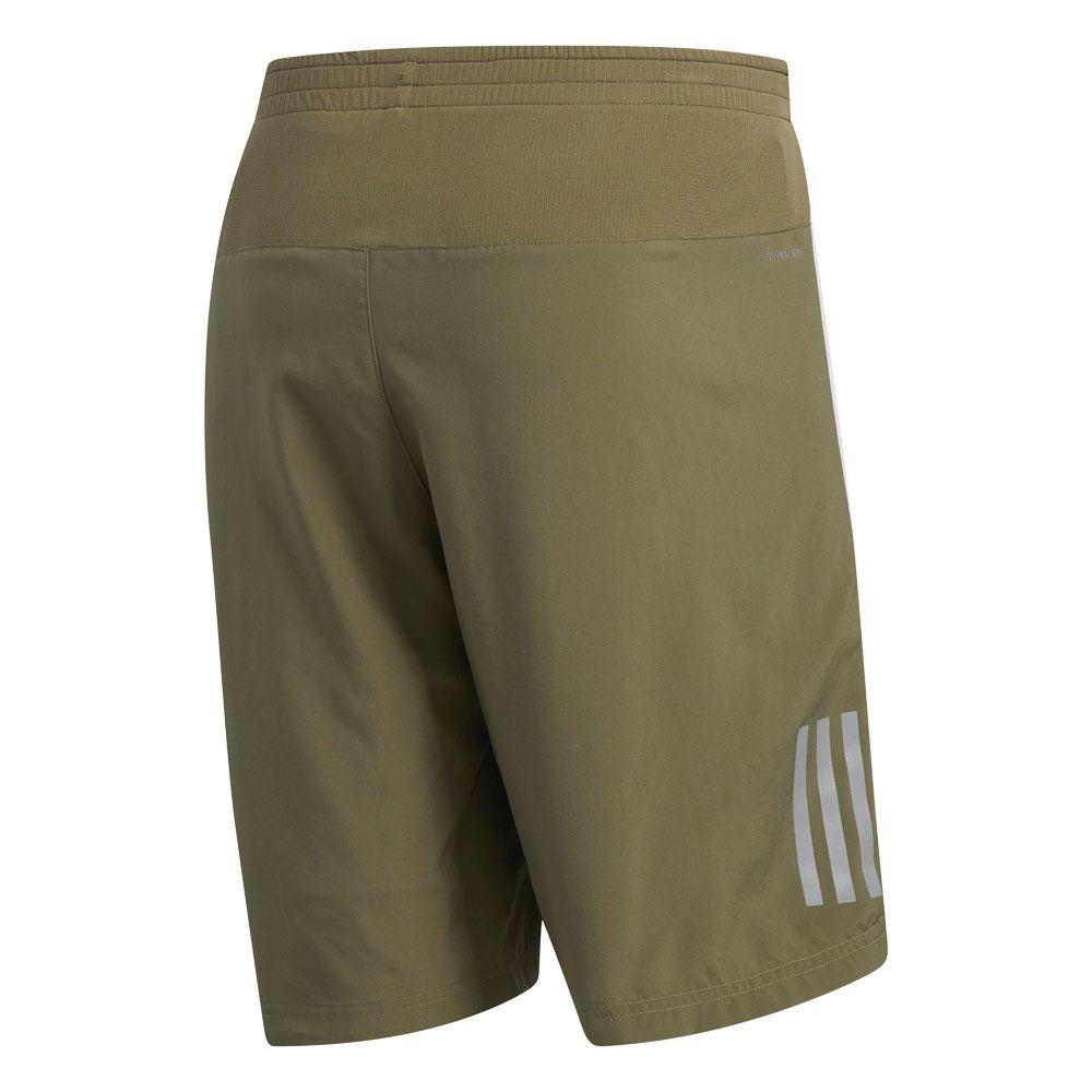 adidas Own the Run 2 in 1 Running Shorts Men raw khaki raw white