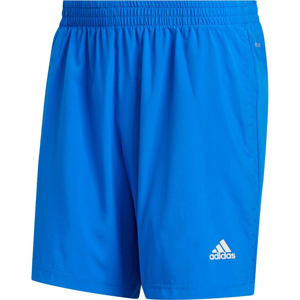 adidas Run It 3 Stripes PB Shorts Men glory blue