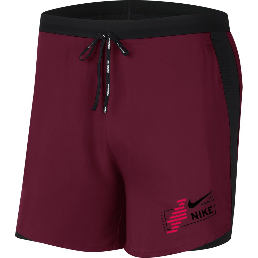 Buque de guerra hemisferio lb  Nike - Flex Stride Future Fast 2in1 Shorts Men dark beetroot black at Sport  Bittl Shop