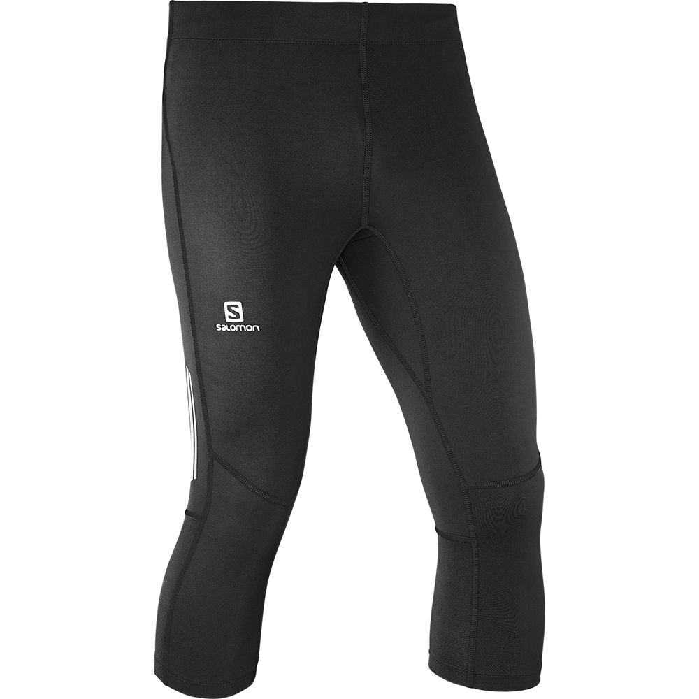 Salomon Agile 34 Tight Herren Laufhose Hosen