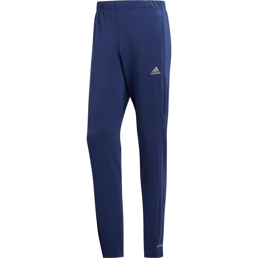 adidas Own the Run Astro Pants Men tech indigo white scarlet