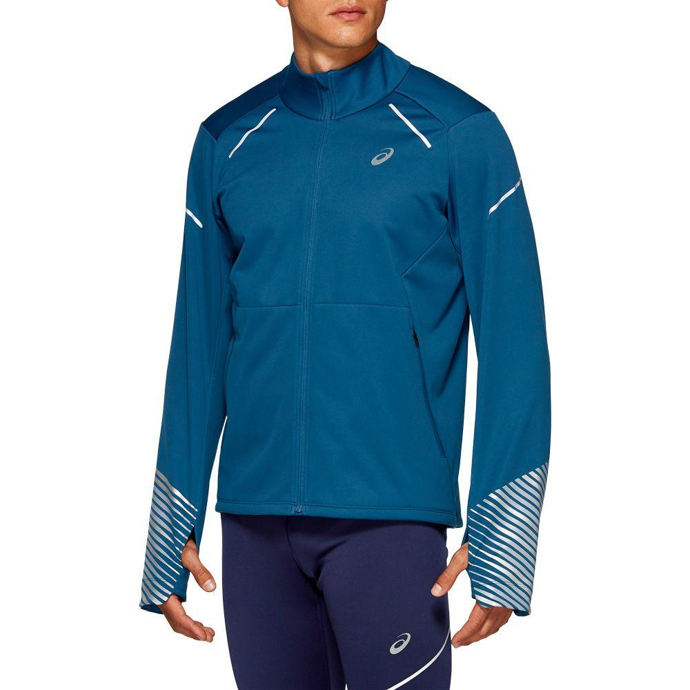 Violar fibra espina  ASICS - Lite-Show 2 Winter Running Jacket Men mako blue at Sport Bittl Shop