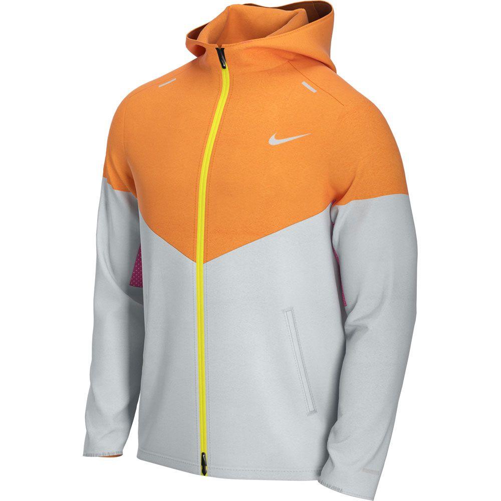 Nike Windrunner Running Jacket Men pure platinum reflective silver