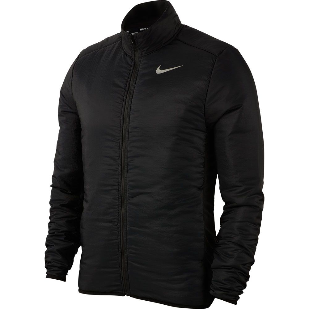 Soleado ceja volverse loco  Nike - Arolyr Running Jacket Men black grey fog reflective silver at Sport  Bittl Shop