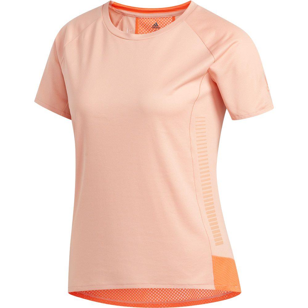 Adidas T Shirt Damen glow pink im Online Shop von