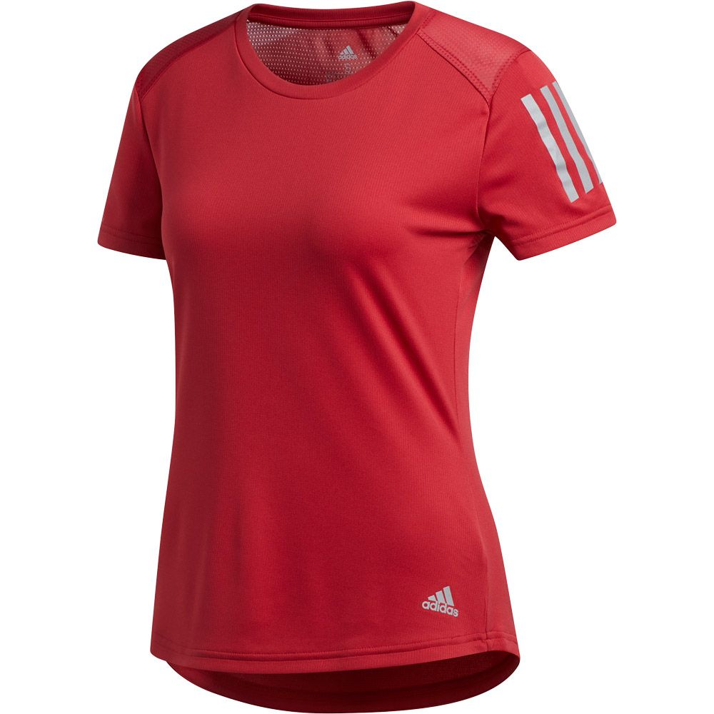 biggest discount new release in stock adidas - Own the Run T-shirt Women active maroon