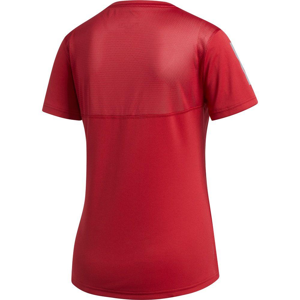 adidas Own the Run T shirt Women active maroon at Sport