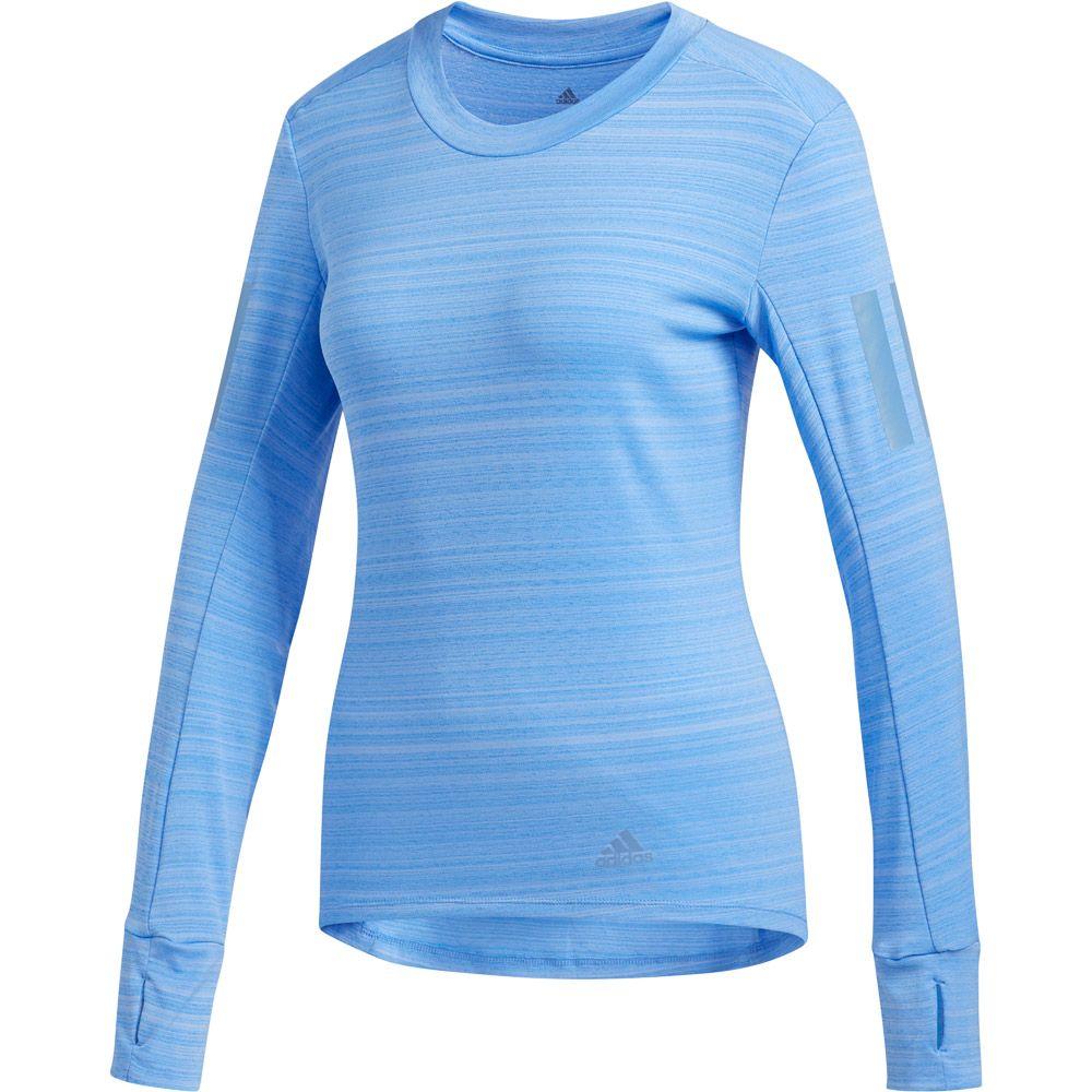adidas Rise Up N Run Longsleeve Shirt Women real blue