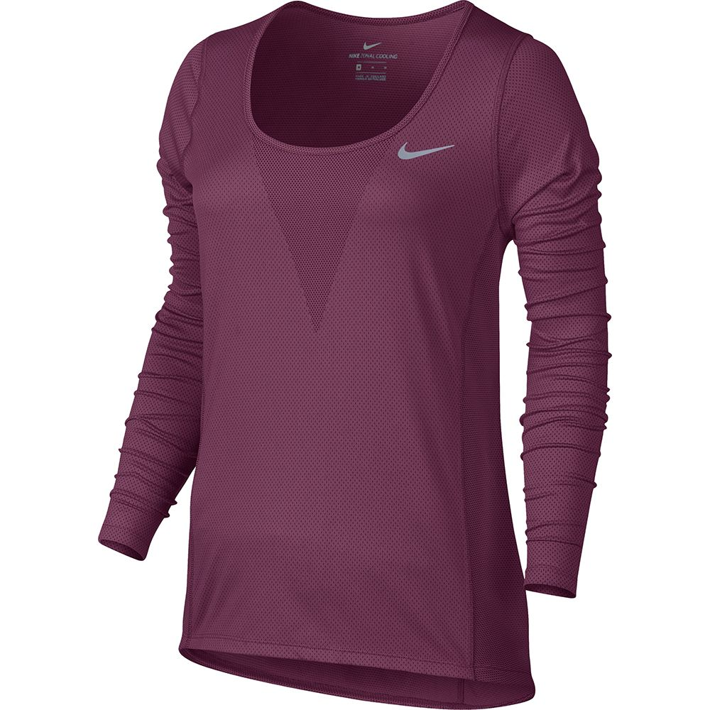 369a20440 Nike - Relay Laufshirt Women berry at Sport Bittl Shop