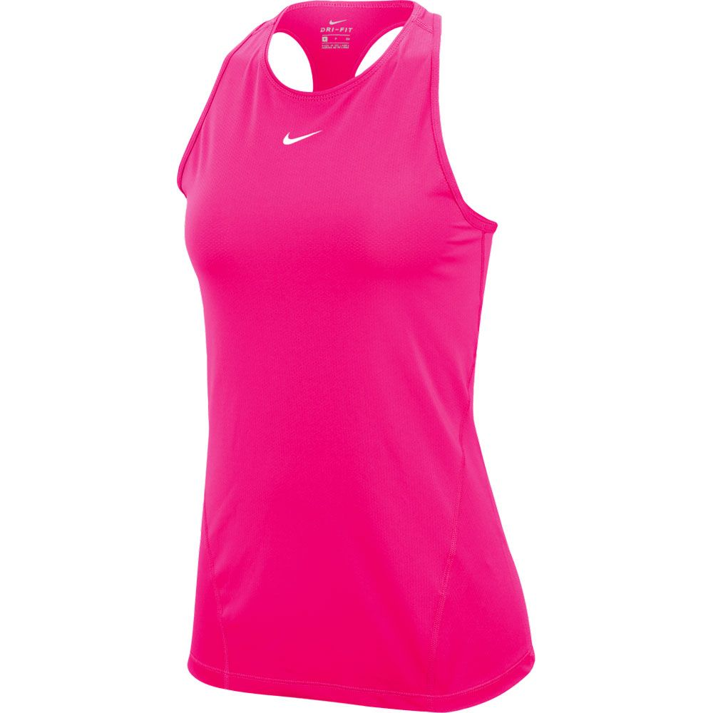 Mesh Tanktop Women hyper pink white